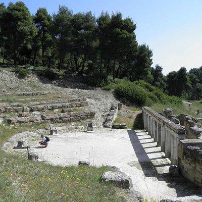The Amphiaraion of Oropos, Theatre