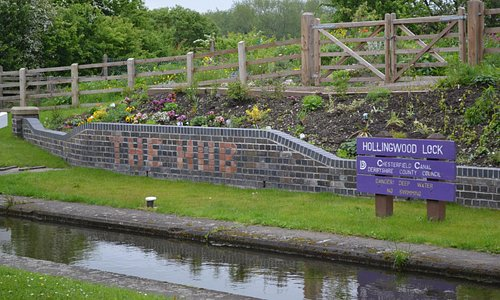 Hollingwood Lock, Chesterfield Canal