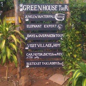 Sen monorom greenhouse Bar & Tour