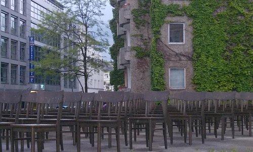 holocaust memorial lipsia - istallazione