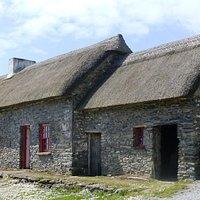 Famine Cottages, Dingle