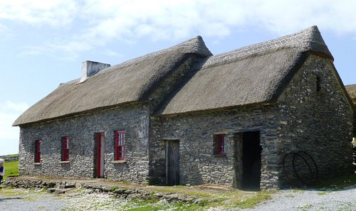 Famine Cottages, Dingle