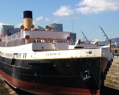 The Nomadic in Hamilton Dock.