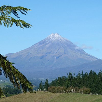 Mt Egmont viewed from the North