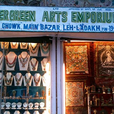 Store-front on the Main Bazaar