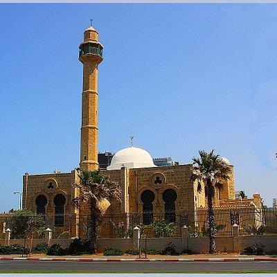 Ja'ama-El-Bahr Sea Mosque Tel Aviv, May 2013