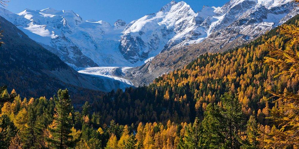 Morteratsch glacier, Engadin St. Moritz
