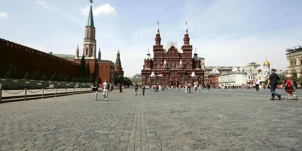 The Walls of the Kremlin & the State Historical Museum