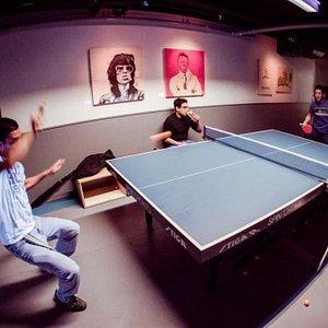 Battles for pong supremacy