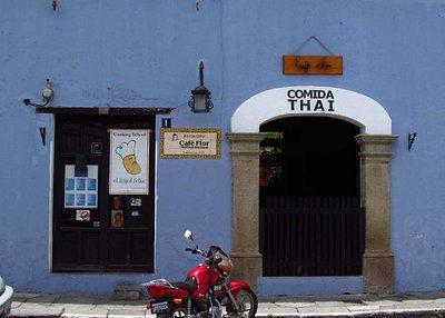 Frijol Feliz Cooking School is Located Inside Cafe Flor