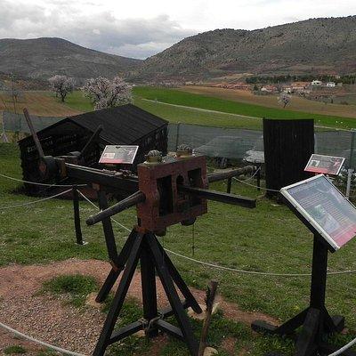 Máquina romana. Trebuchet Park