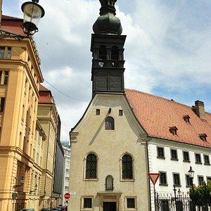 Ursuline Church in Bratislava (Ursulinky)