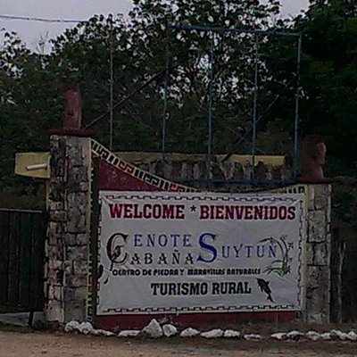 Emtrance to Suytun Cenote