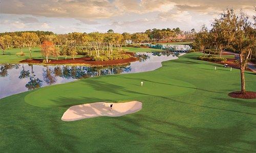 10th hole at Frederica Golf Club
