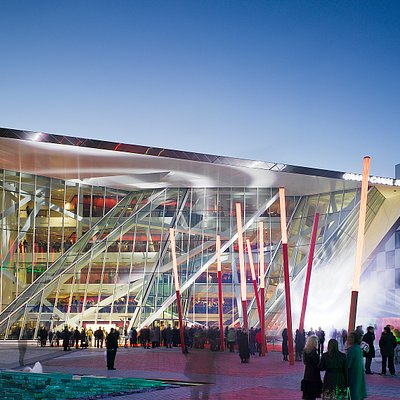 The Bord Gáis Energy Theatre's magnificent architecture is representative of its creative and ou