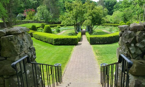 Entreance to the Sunken garden