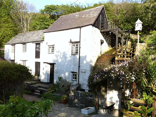 16th C. Hele Corn Mill in May 2013