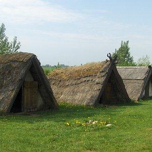 Trelleborg. Vikinge by.Maj 2013