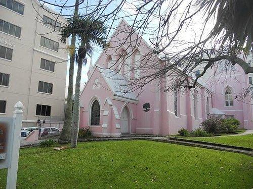 St Andrew's Church, Hamilton Bermuda ('the pink church')