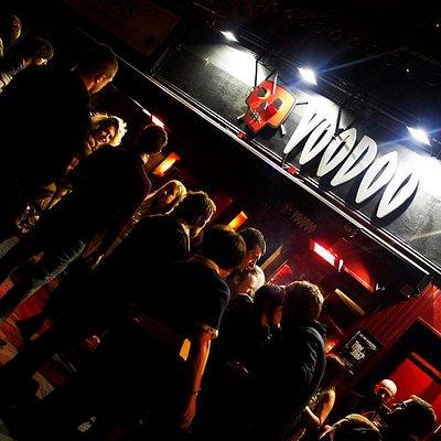 Voodoo Downstairs Bar!
