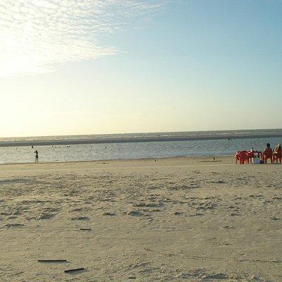 parte da praia