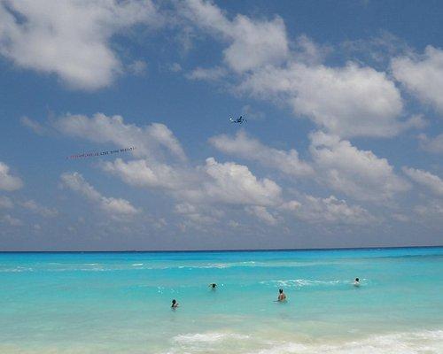 ese increíble mar turquesa...