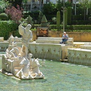 Fuente del Rey  of Kings Fountain in priego