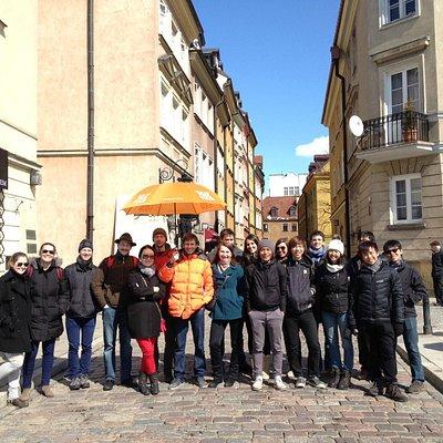 Orange Umbrella Free Tour Warsaw