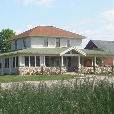 The Tasting House- formerly the bunkhouse for the railroad