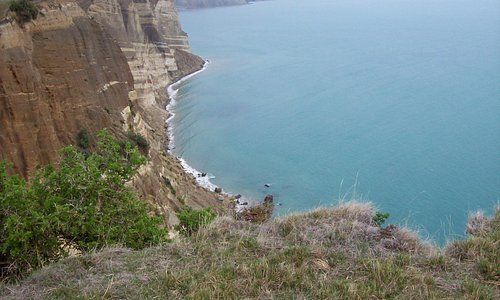 Cliffs and Ocean