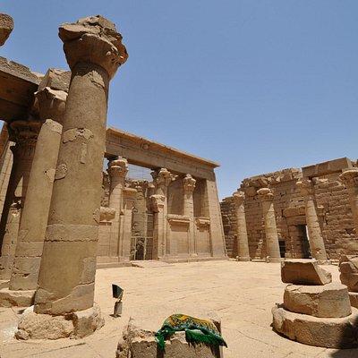 Columns, Temple of Kalabsha, May 2013