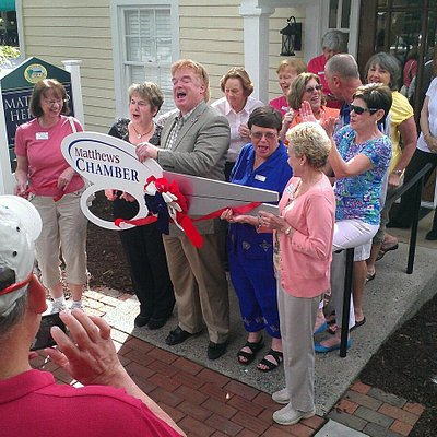Grand opening with the Mayor and Chamber of Commerce on June 8th, 2013