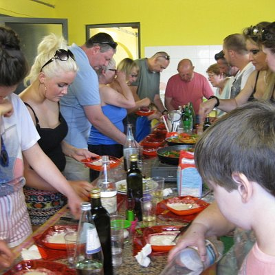 Cookery class group