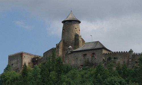 le château de Stará Ľubovňa