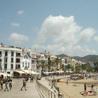 Sitges beach1