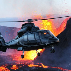 Volcanic eruption in 2010