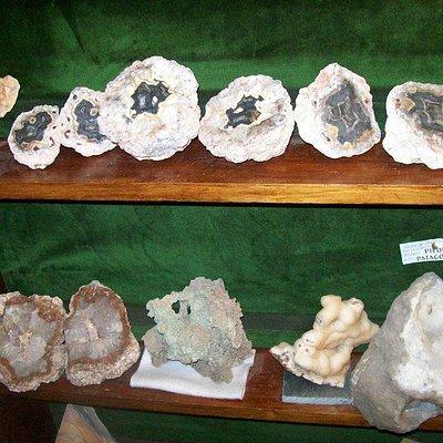 museo de piedras patagonicas- muestra