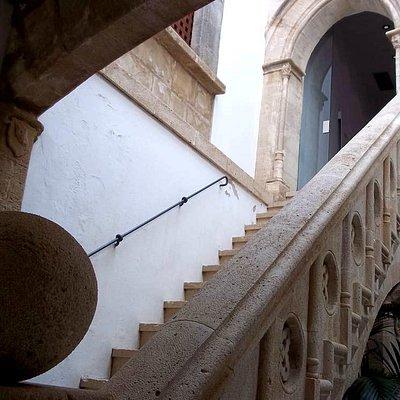 Inside Museo Puget