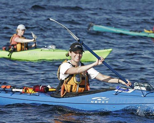 We love sea kayaking