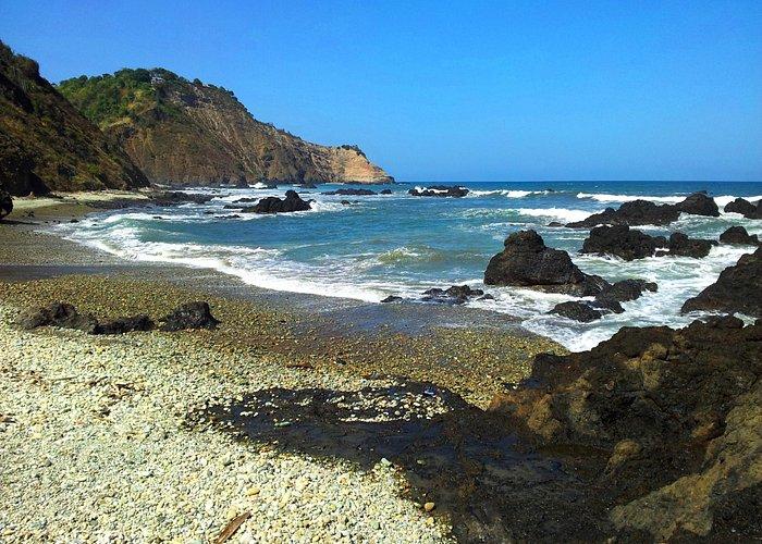 Area de la playa junto al cerro, un lugar muy bueno para tomar fotos