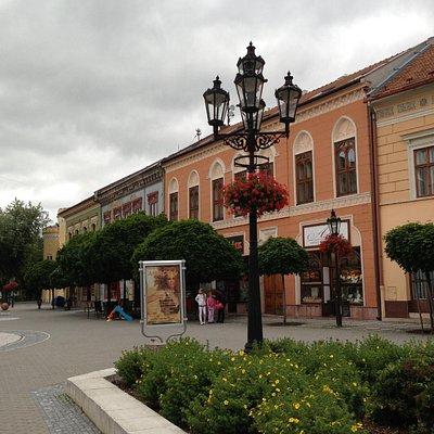 Komarno City Center - pedestrian area