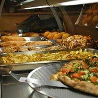 Focaccia alla Messinese e Pizza