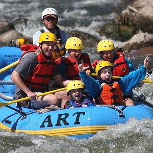 Family Adventure in Bighorn Sheep Canyon, Arkansas River