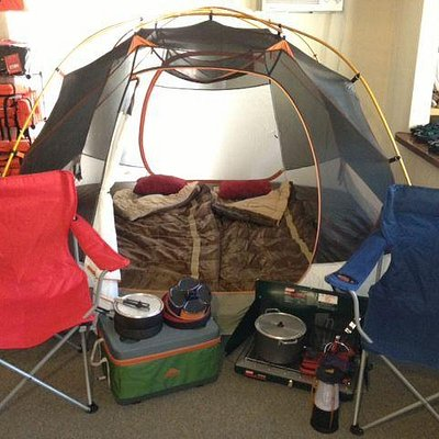 Car Camping Package 1-2 people $69