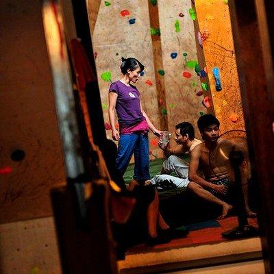 Unique climbing experience