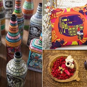 Indian Handicrafts, Cushions, Aroma Products...