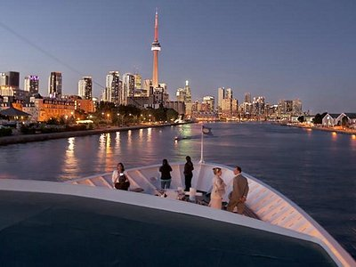 A view of Toronto from the Captain Matthew Flinders