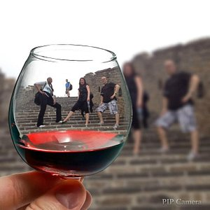 Cheers on Great Wall