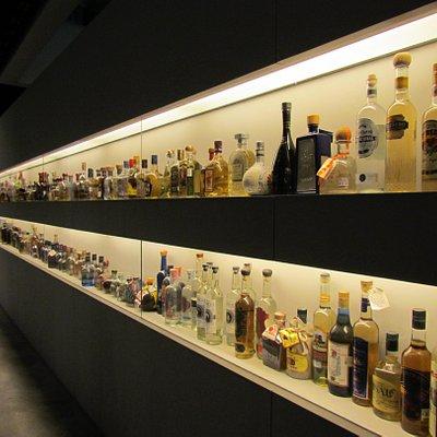 Garrafas de Tequila e Mescal