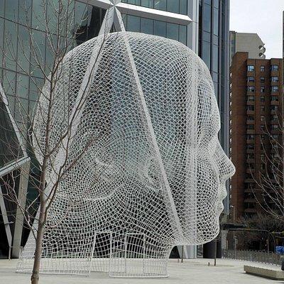 Wonderland sculpture, Apr 2013